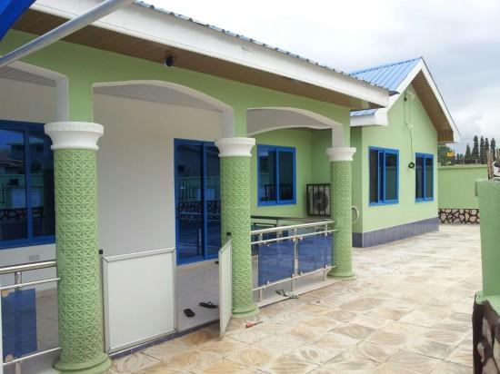 A newly built house in Ghana for lease