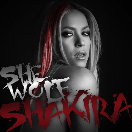 She wolf shakira album cover