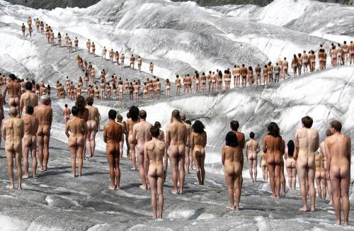 The Naked Art of Spencer Tunick